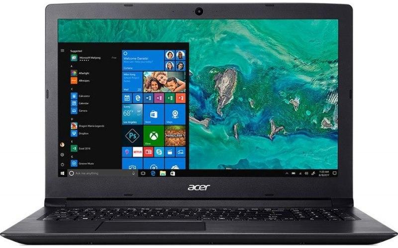 """Ноутбук ACER Aspire 3 A315-53-51V7 15.6""""/Intel Core i5 8250U 1.6ГГц/8Гб/1000Гб/256Гб SSD/Intel UHD Graphics 620/Windows 10 Home/NX.H38ER.004/черный"""