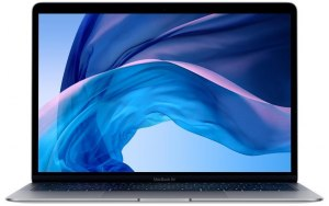 "Ноутбук APPLE MacBook Air MRE82RU/A 13.3""/IPS/Intel Core i5 8210Y 1.6ГГц/8Гб/128Гб SSD/Intel UHD Graphics 617/Mac OS X Mojave/MRE82RU/A/серый космос"