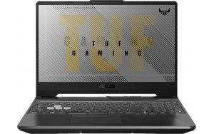 "Ноутбук ASUS TUF Gaming FX506HE-HN013T 15.6""/IPS/Intel Core i5 11400H 2.7ГГц/8ГБ/512ГБ SSD/NVIDIA GeForce RTX 3050 Ti для ноутбуков - 4096 Мб/Windows 10/90NR0703-M02650/серый"