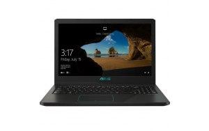 """Ноутбук ASUS VivoBook X570UD-E4384T 15.6""""/Intel Core i7 8550U 1.8ГГц/12Гб/1000Гб/128Гб SSD/nVidia GeForce GTX 1050 2048 Мб/Windows 10/90NB0HS1-M05260/черный"""