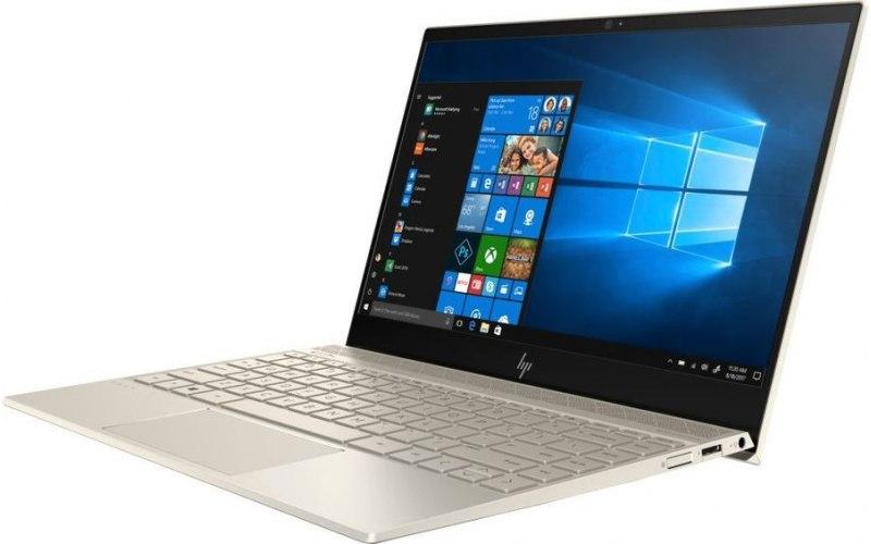 """Ноутбук HP Envy 13-ah1012ur 13.3""""/Intel Core i7 8565U 1.8ГГц/16Гб/512Гб SSD/nVidia GeForce Mx150 2048 Мб/Windows 10/5CV21EA/золотистый"""