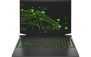"Ноутбук HP Pavilion Gaming 16-a0017ur 16.1""/IPS/Intel Core i5 10300H 2.5ГГц/8ГБ/512ГБ SSD/NVIDIA GeForce GTX 1650 - 4096 Мб/Free DOS 3.0/22R51EA/черный/зеленый"