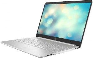 """Ноутбук HP 15s-fq0005ur 15.6""""/Intel Core i5 8265U 1.6ГГц/8Гб/256Гб SSD/Intel UHD Graphics 620/Windows 10/7EA66EA/серебристый"""