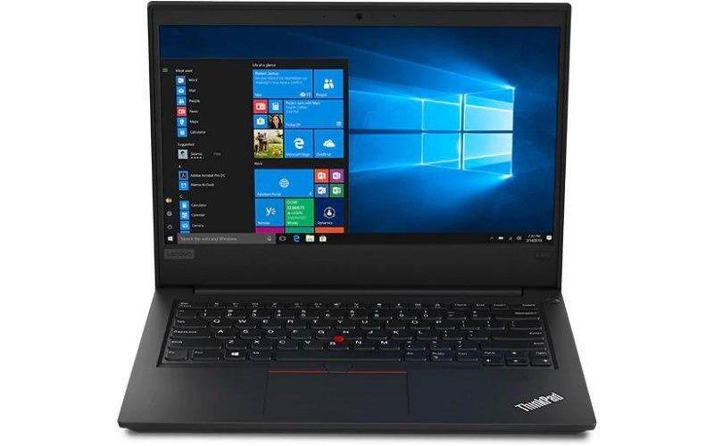 """Ноутбук LENOVO ThinkPad E490 14""""/IPS/Intel Core i7 8565U 1.8ГГц/8Гб/1000Гб/Intel UHD Graphics 620/Windows 10 Professional/20N80018RT/черный"""