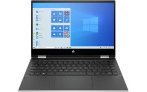 "Ноутбук-трансформер HP Pavilion x360 14-dw0038ur 14""/Intel Core i3 1005G1 1.2ГГц/8ГБ/128ГБ SSD/Intel UHD Graphics /Windows 10/249W9EA/серебристый"