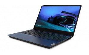"Ноутбук LENOVO IP Gaming 3 15IMH05 15.6""/IPS/Intel Core i7 10750H 2.6ГГц/8ГБ/512ГБ SSD/NVIDIA GeForce GTX 1650 Ti - 4096 Мб/Free DOS/81Y40097RK/синий"