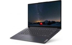 "Ноутбук LENOVO Yoga Slim7 14IIL05 14""/IPS/Intel Core i7 1065G7 1.3ГГц/16ГБ/1000ГБ SSD/Intel Iris Plus graphics /Windows 10/82A10086RU/серый"