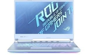 "Ноутбук ASUS ROG G512LV-HN236 15.6""/IPS/Intel Core i7 10870H 2.2ГГц/16ГБ/512ГБ SSD/NVIDIA GeForce RTX 2060 - 6144 Мб/noOS/90NR04D2-M04550/голубой"