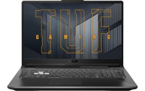 "Ноутбук ASUS TUF Gaming FX706HCB-HX111 17.3""/IPS/Intel Core i5 11400H 2.7ГГц/8ГБ/512ГБ SSD/NVIDIA GeForce RTX 3050 для ноутбуков - 4096 Мб/noOS/90NR0733-M02430/серый"