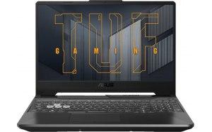 "Ноутбук ASUS TUF Gaming FX506HEB-HN155 15.6""/IPS/Intel Core i5 11400H 2.7ГГц/8ГБ/512ГБ SSD/NVIDIA GeForce RTX 3050 Ti для ноутбуков - 4096 Мб/noOS/90NR0703-M04500/серый"