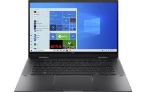 """Ноутбук-трансформер HP Envy x360 15-eu0030ur 15.6""""/IPS/AMD Ryzen 5 5500U 2.1ГГц/8ГБ/1ТБ SSD/AMD Radeon /Windows 10/4L664EA/черный"""