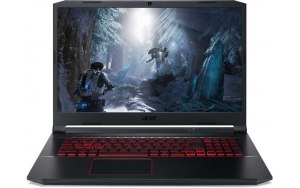 "Ноутбук ACER Nitro 5 AN517-52-70QL 17.3""/IPS/Intel Core i7 10750H 2.6ГГц/16ГБ/512ГБ SSD/nVidia GeForce GTX 1650 Ti - 4096 Мб/Eshell/NH.Q82ER.00A/черный"