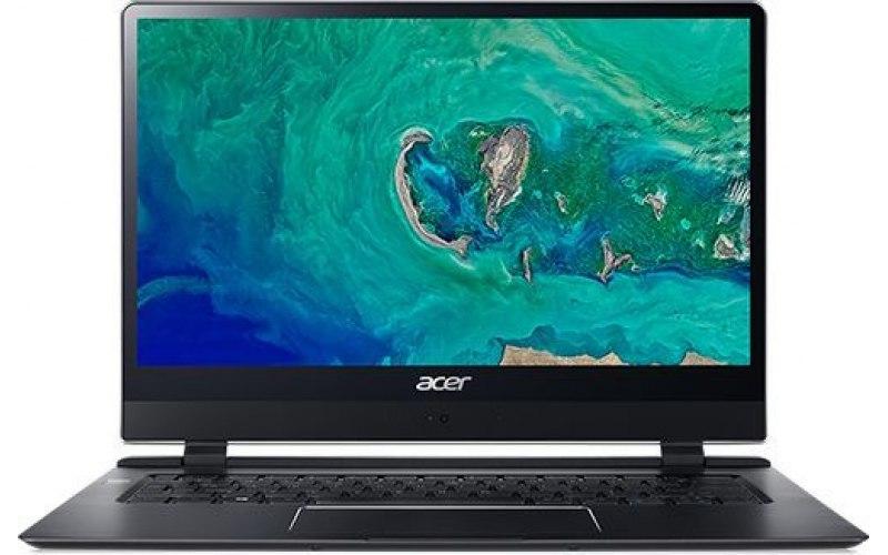 "Ультрабук ACER Swift 7 SF714-51T-M3AH 14""/IPS/Intel Core i7 7Y75 1.3ГГц/8Гб/256Гб SSD/Intel HD Graphics 615/Windows 10 Professional/NX.GUHER.002/черный"