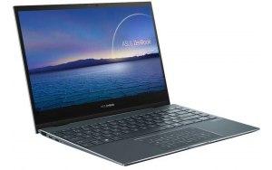 """Ноутбук-трансформер ASUS Zenbook Flip UX363JA-EM211T 13.3""""/IPS/Intel Core i5 1035G4 1.1ГГц/16ГБ/512ГБ SSD/Intel Iris Plus graphics /Windows 10/90NB0QT1-M04730/серый"""