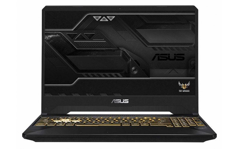 "Ноутбук ASUS TUF Gaming FX505GE-BQ412 15.6""/IPS/Intel Core i5 8300H 2.3ГГц/16Гб/1000Гб/256Гб SSD/nVidia GeForce GTX 1050 Ti 4096 Мб/noOS/90NR00S1-M08610/темно-серый"