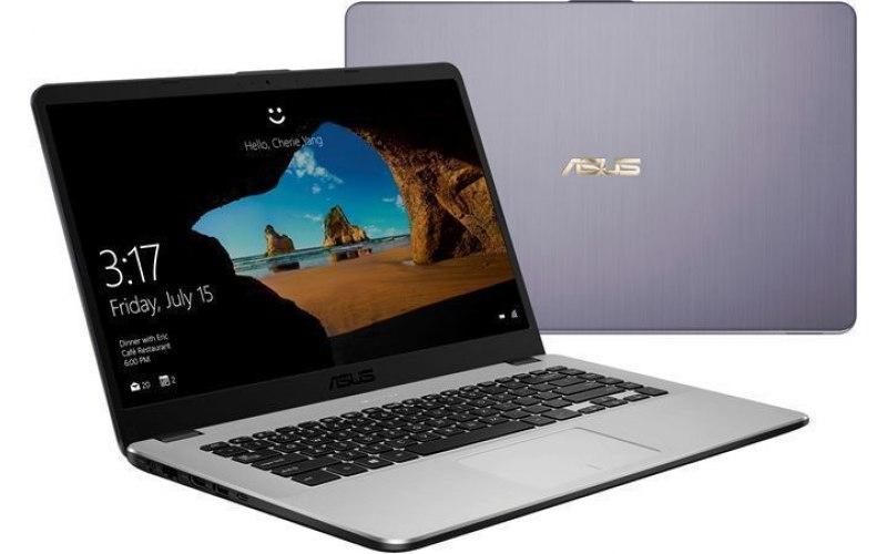"Ноутбук ASUS VivoBook X505ZA-BQ074 15.6""/IPS/AMD Ryzen 5 2500U 2.0ГГц/8Гб/256Гб SSD/AMD Radeon Vega 8/Endless/90NB0I11-M13440/серый"