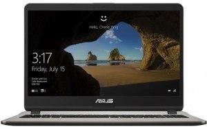 """Ноутбук ASUS VivoBook X507UF-BQ205T 15.6""""/Intel Core i3 7020U 2.3ГГц/6Гб/1000Гб/nVidia GeForce Mx130 2048 Мб/Windows 10/90NB0JB1-M02480/серый"""