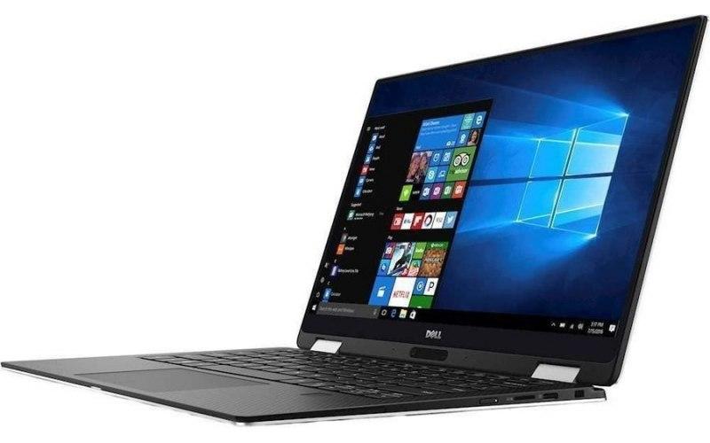 "Ультрабук-трансформер DELL XPS 13 13.3""/Intel Core i7 8500Y 1.5ГГц/16Гб/512Гб SSD/Intel HD Graphics 615/Windows 10 Professional/9365-2523/серебристый"