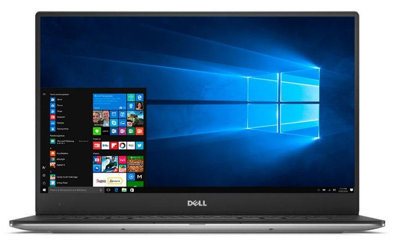 "Ультрабук DELL XPS 13 13.3""/IPS/Intel Core i5 7200U 2.5ГГц/8Гб/256Гб SSD/Intel HD Graphics 620/Windows 10 Professional/9360-9999/серебристый"