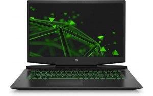 "Ноутбук HP Pavilion Gaming 17-cd1048ur 17.3""/IPS/Intel Core i5 10300H 2.5ГГц/8ГБ/512ГБ SSD/NVIDIA GeForce GTX 1650 - 4096 Мб/Free DOS 3.0/22R60EA/черный/зеленый"