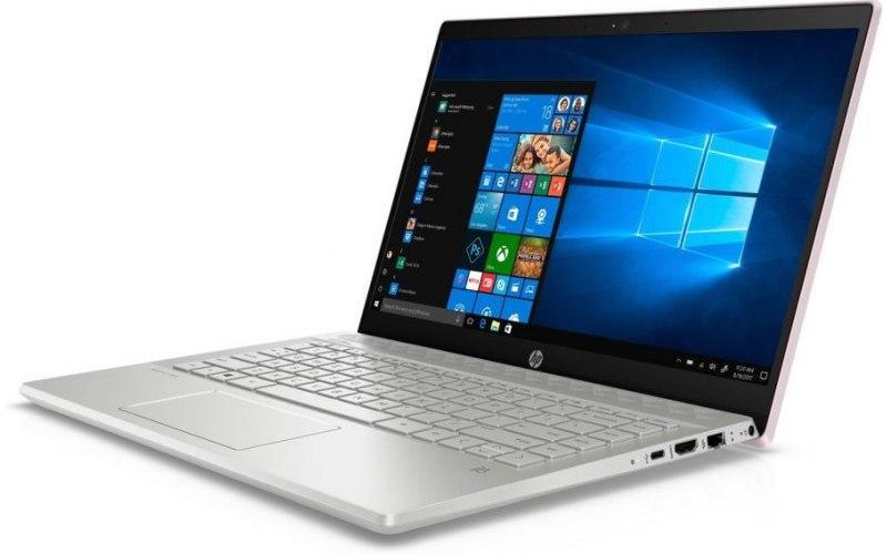 """Ноутбук HP 14-ce0010ur 14""""/IPS/Intel Core i5 8250U 1.6ГГц/4Гб/16Гб Intel Optane/1000Гб/nVidia GeForce Mx130 2048 Мб/Windows 10/4HB67EA/розовый"""