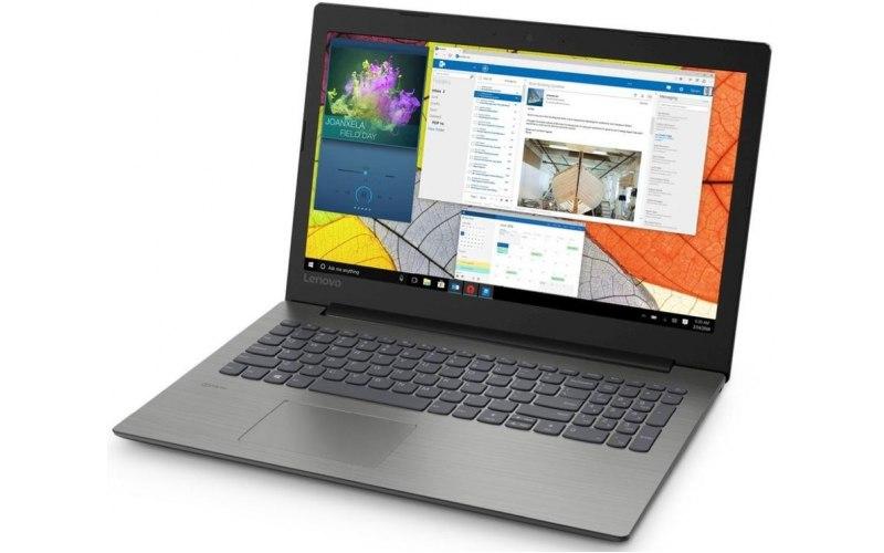 "Ноутбук LENOVO IdeaPad 330-15AST 15.6""/AMD A4 9125 2.3ГГц/4Гб/128Гб SSD/AMD Radeon R3/Free DOS/81D600R7RU/черный"
