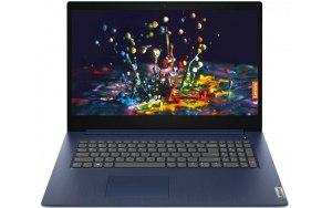 "Ноутбук LENOVO IdeaPad 3 17ADA05 17.3""/AMD Ryzen 3 3250U 2.6ГГц/8ГБ/256ГБ SSD/AMD Radeon Vega 3/Free DOS/81W2003XRK/синий"