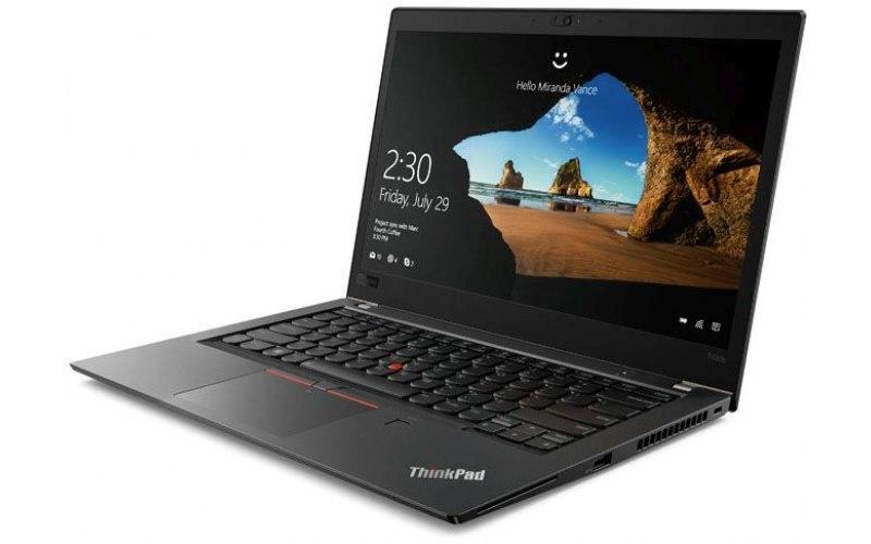 """Ноутбук LENOVO ThinkPad T480s 14""""/IPS/Intel Core i7 8550U 1.8ГГц/16Гб/512Гб SSD/Intel UHD Graphics 620/Windows 10 Professional/20L7001HRT/черный"""