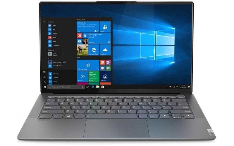 """Ноутбук LENOVO Yoga S940-14IWL 14""""/IPS/Intel Core i5 8265U 1.6ГГц/8Гб/512Гб SSD/Intel UHD Graphics 620/Windows 10/81Q7000HRU/металлический"""