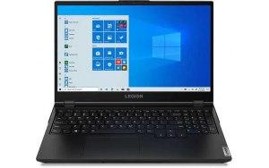 "Ноутбук LENOVO Legion 5 15ARH05 15.6""/IPS/AMD Ryzen 7 4800H 2.9ГГц/16ГБ/256ГБ SSD/NVIDIA GeForce GTX 1650 - 4096 Мб/Windows 10/82B5008KRU/черный"