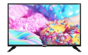 """Телевизор LED Telefunken 32"""" TF-LED32S03T2S Smart черный/HD READY/DVB-T/50Hz/DVB-T2/DVB-C/DVB-S/DVB-"""