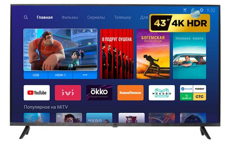 """Телевизор XIAOMI Mi TV 4S 43 43"""" Ultra HD 4K"""