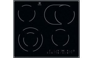 Варочная панель ELECTROLUX CPE644RCC электрическая черный
