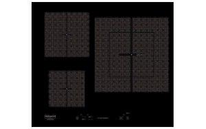 Варочная панель HOTPOINT-ARISTON KIS 630XLD B индукционная черный