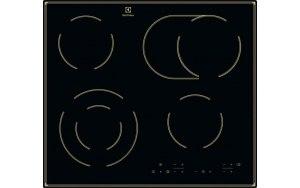 Варочная панель ELECTROLUX CPE644RBC электрическая черный